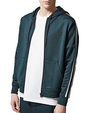 The Kooples Fleece Zip Hooded Sweatshirt