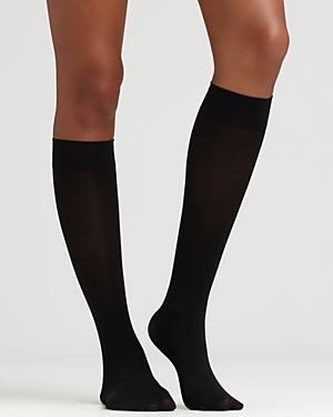 Hue Knee Highs - Soft Opaque #u5304