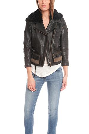 Acne Star Leather Jacket