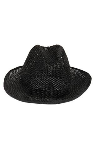 Mm6 Martin Margiela Mm6 Maison Martin Margiela Woven Black Hat