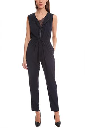 3.1 Phillip Lim Sleeveless Jumpsuit In Navy