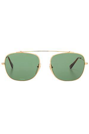 Super Primo Gold Metal Sunglasses
