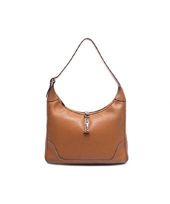 Hermes Pre-owned Hermes Gold Courcheval Leather Trim 31 Hobo Bag