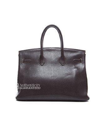 Hermes Pre-owned Hermes Gulliver Leather Birkin 35 Bag