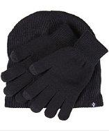 1 Voice Touch Screen Gloves With Matching Beanie