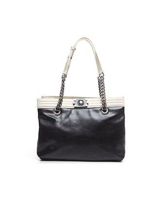 Chanel Pre-owned Chanel Calfskin Large Boy Tote Bag