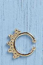 Boohoo Alice Faux Septum Ring