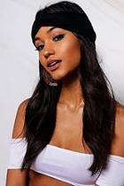 Boohoo Freya Knot Front Headband