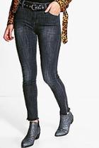 Boohoo Sofia Distressed Skinny Jeans
