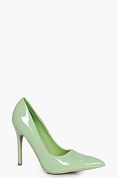 Boohoo Grace Pointed Court Heels