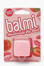 Boohoo Balmi Strawberry Lip Balm
