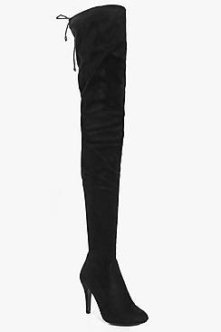 Boohoo Natasha Thigh High Boot