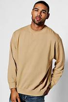 Boohoo Oversized Enzyme Washed Sweater