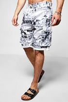 Boohoo Photographic Print Bermuda Shorts