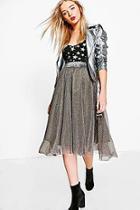 Boohoo Sophie Glitter Tulle Skirt
