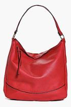 Boohoo Lucy Knot Detail Strap Day Bag