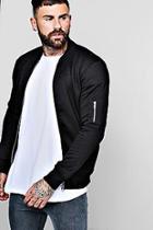Boohoo Jersey Ma1 Bomber Jacket