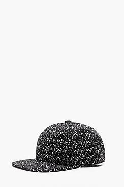 Boohoo Paint Splatter Cap