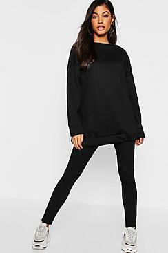 Boohoo Oversized Lounge Sweat
