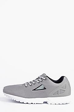 Boohoo Lace Up Running Trainers