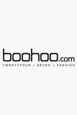 Boohoo Alice Wrap Front Jersey Playsuit
