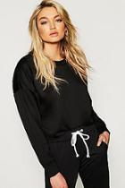 Boohoo Tall Basic Oversized Sweat Top