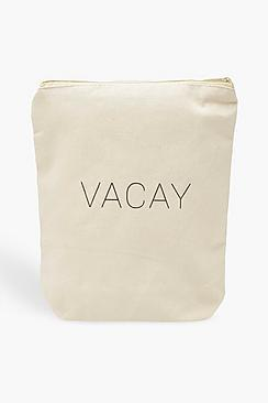 Boohoo Vacay Wash Bag