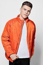 Boohoo Zip Front Padded Jacket
