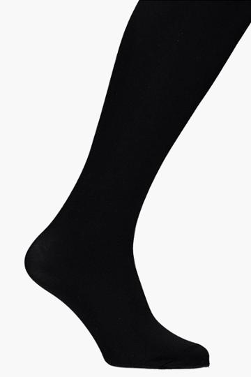 Boohoo Elizabeth 2 Pack 80 Denier Tights Black