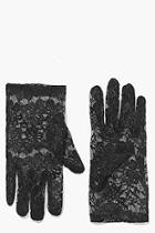 Boohoo Halloween Laura Lace Gloves