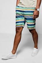 Boohoo Multi Stripe Short
