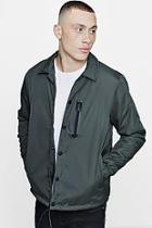 Boohoo Padded Coach Jacket