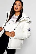 Boohoo Sporty Padded Jacket