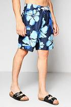 Boohoo Floral Print Bermuda Shorts