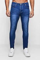 Boohoo Skinny Jeans In Vintage Wash
