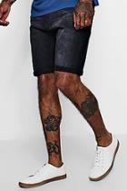 Boohoo Skinny Fit Denim Shorts