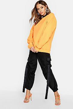 Boohoo Neon Oversized Sweat