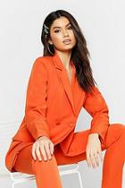 Boohoo Oversized Tailored Blazer
