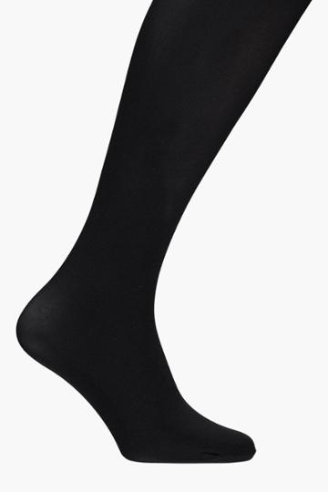 Boohoo Erin 60 Denier Tights Black