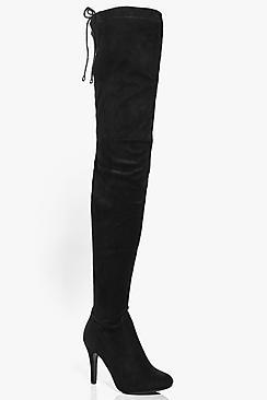 Boohoo Rebecca Thigh High Boot