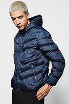 Boohoo Hooded Quilted Jacket