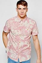 Boohoo Floral Print Shirt