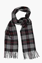 Boohoo Plaid Check Scarf