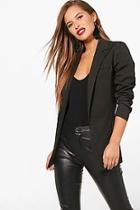 Boohoo Petite Premium Alicia Tailored Blazer