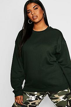 Boohoo Plus Oversized Sweat