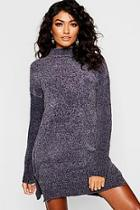 Boohoo Chenille Jumper Dress