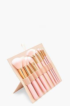 Boohoo Boutique 10pc Brush Set With Case