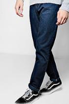 Boohoo Raw Indigo Slim Fit Smart Jeans