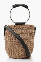 Boohoo Ring Handle Grab Bag Cross Body