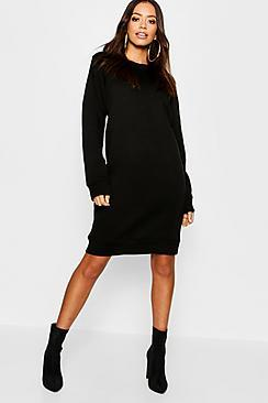 Boohoo Oversized Basic Sweat Dress